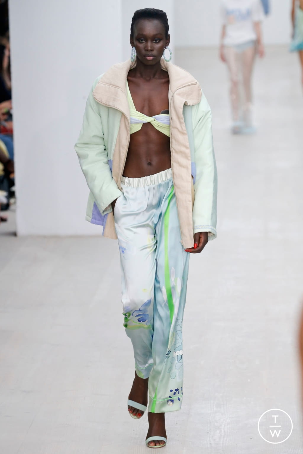 Fashion Week London Spring/Summer 2020 look 14 from the Roberta Einer collection womenswear