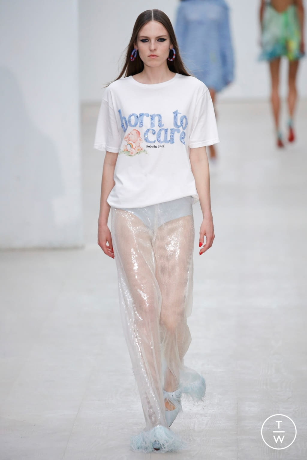 Fashion Week London Spring/Summer 2020 look 15 from the Roberta Einer collection womenswear