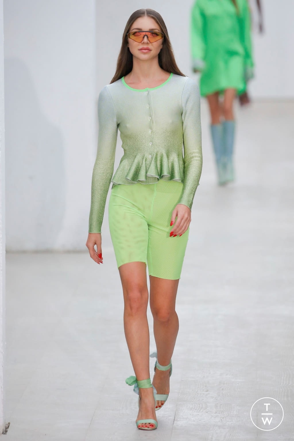 Fashion Week London Spring/Summer 2020 look 19 from the Roberta Einer collection womenswear
