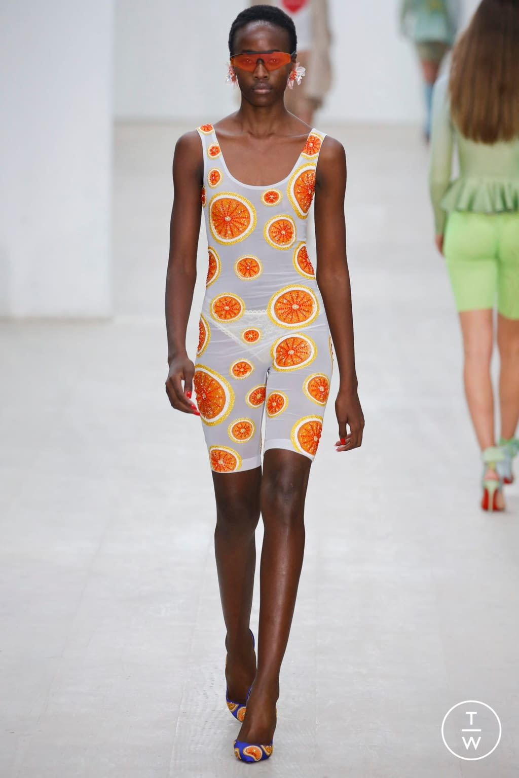 Fashion Week London Spring/Summer 2020 look 21 from the Roberta Einer collection womenswear