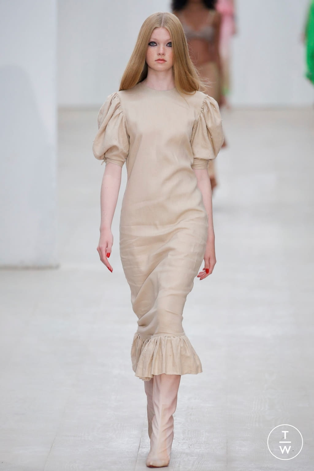Fashion Week London Spring/Summer 2020 look 23 from the Roberta Einer collection womenswear