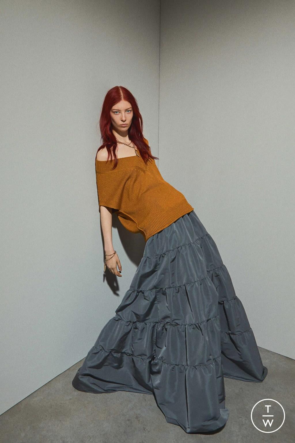 Fashion Week Paris Resort 2020 look 17 de la collection Rochas womenswear