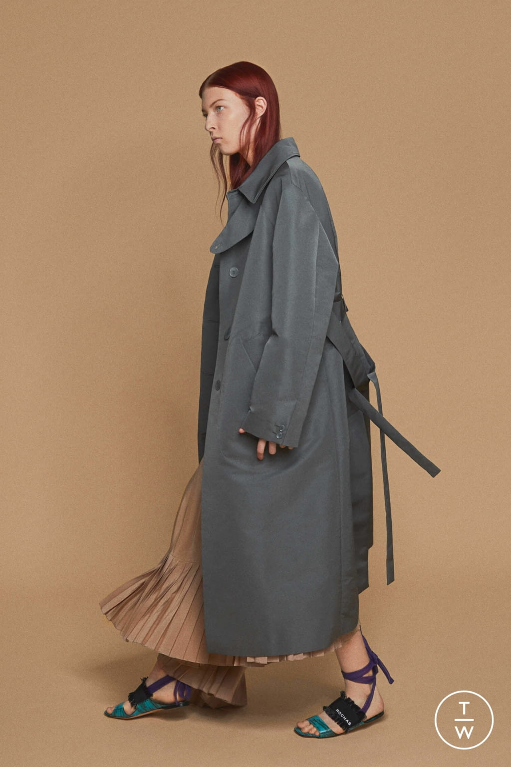 Fashion Week Paris Resort 2020 look 7 de la collection Rochas womenswear
