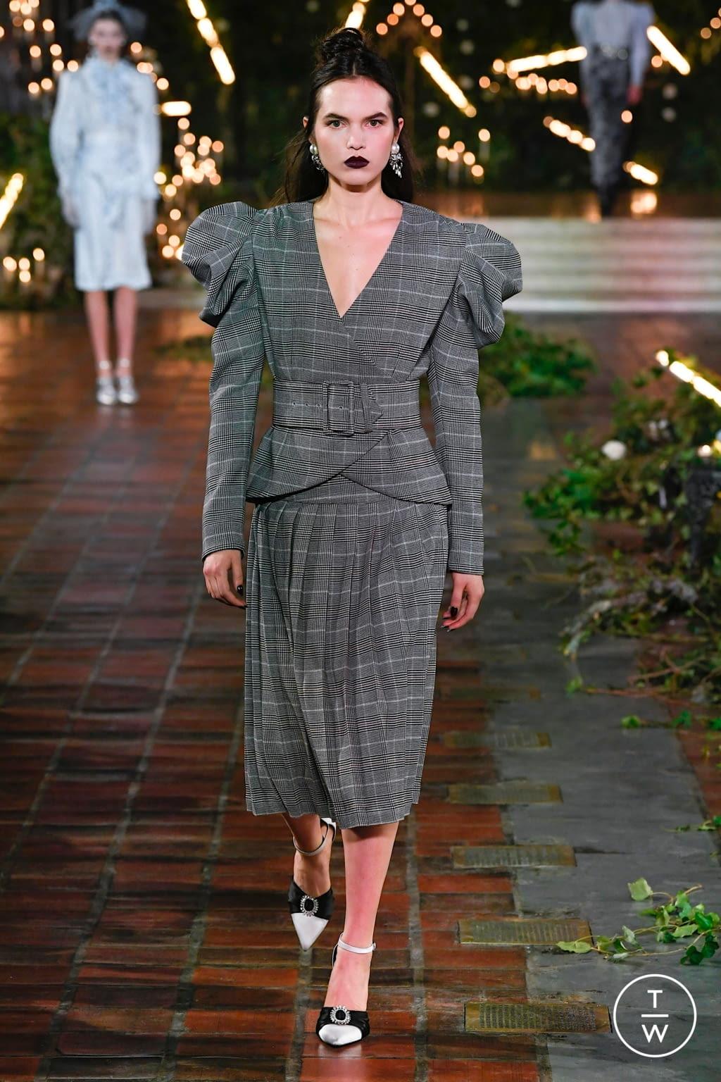 Fashion Week New York Fall/Winter 2020 look 3 from the Rodarte collection womenswear
