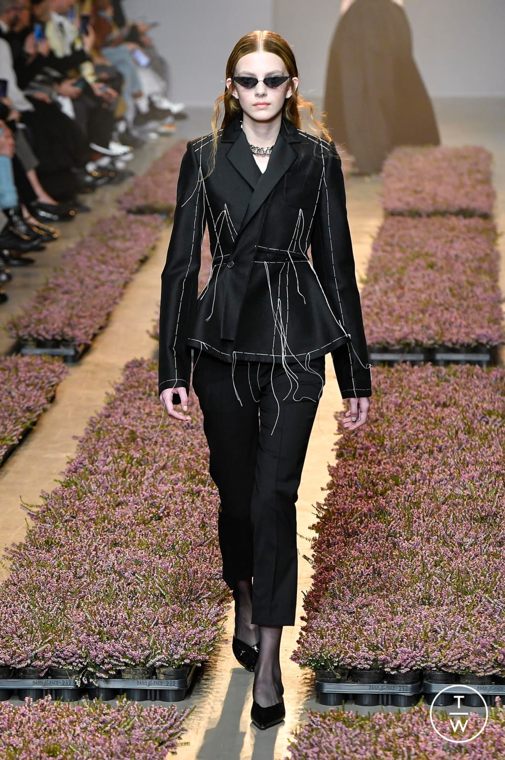 Fashion Week Paris Fall/Winter 2020 look 2 from the Rokh collection womenswear