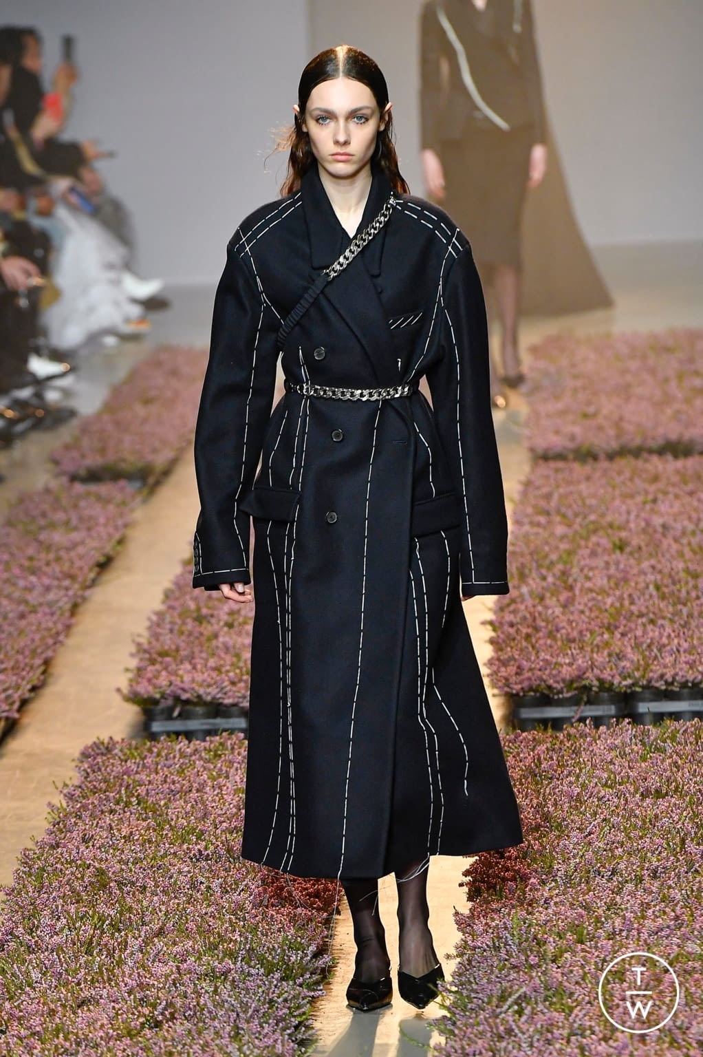 Fashion Week Paris Fall/Winter 2020 look 6 from the Rokh collection womenswear