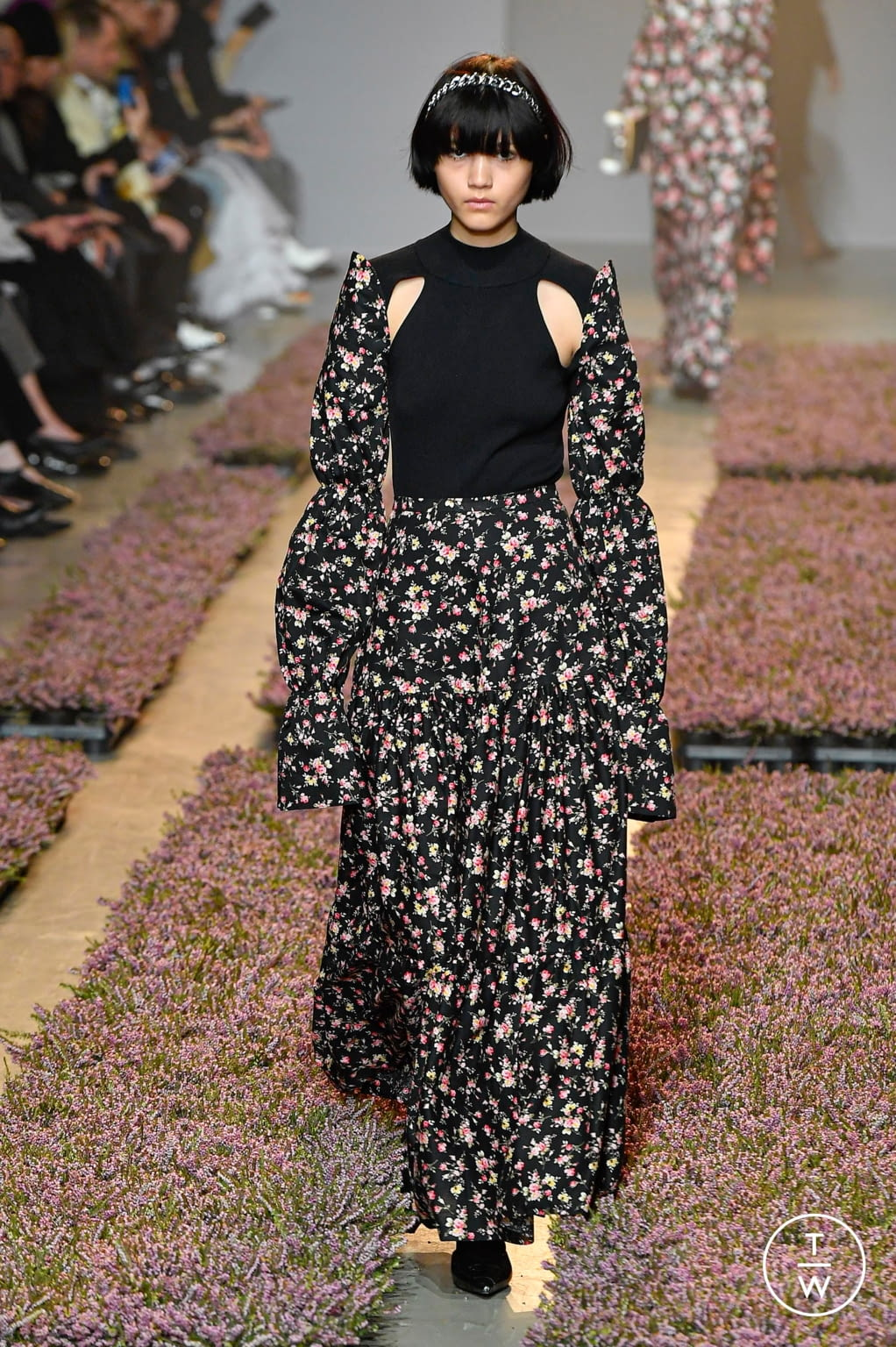 Fashion Week Paris Fall/Winter 2020 look 10 from the Rokh collection womenswear