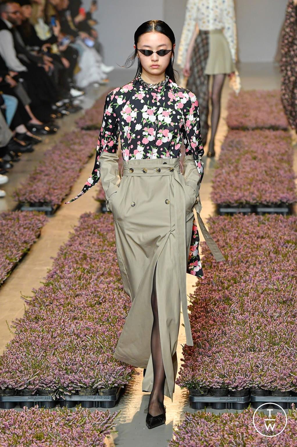 Fashion Week Paris Fall/Winter 2020 look 12 de la collection Rokh womenswear