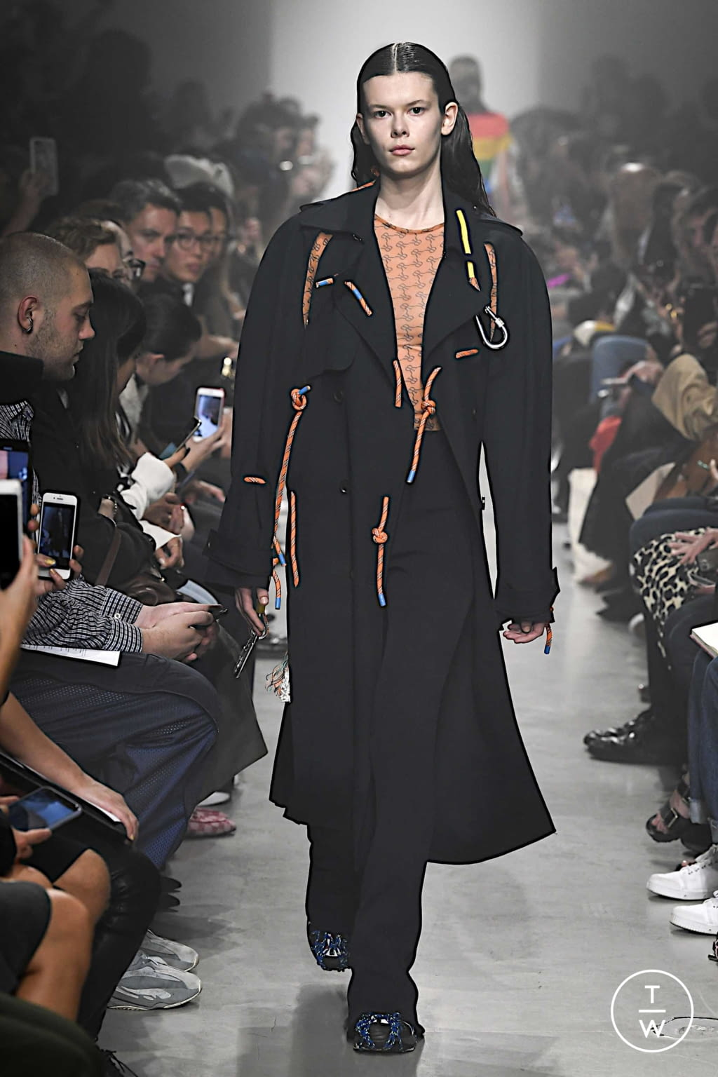 Fashion Week Paris Spring/Summer 2020 look 18 from the Rokh collection womenswear