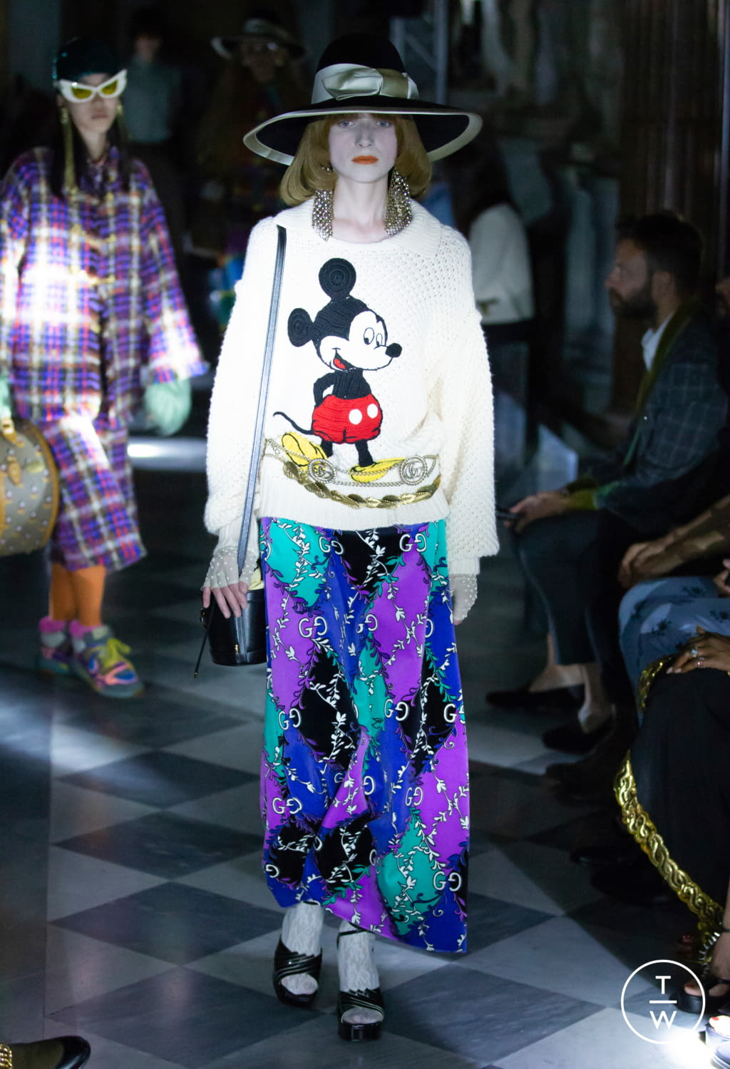 Fashion Week Milan Resort 2020 look 24 from the Gucci collection womenswear