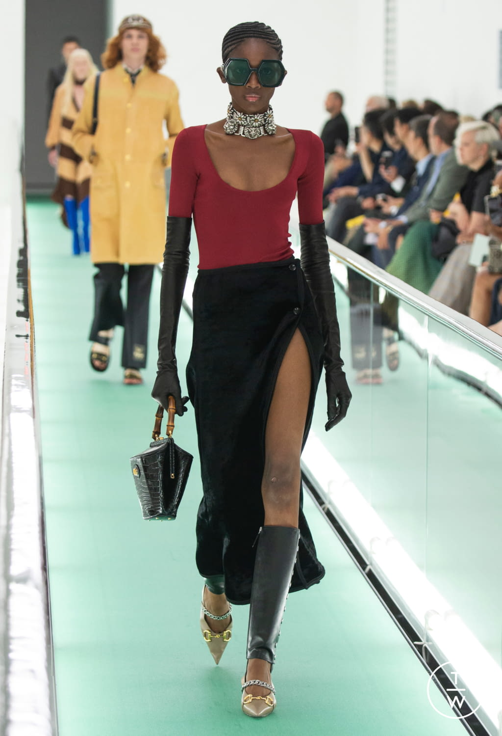 Fashion Week Milan Spring/Summer 2020 look 85 de la collection Gucci womenswear