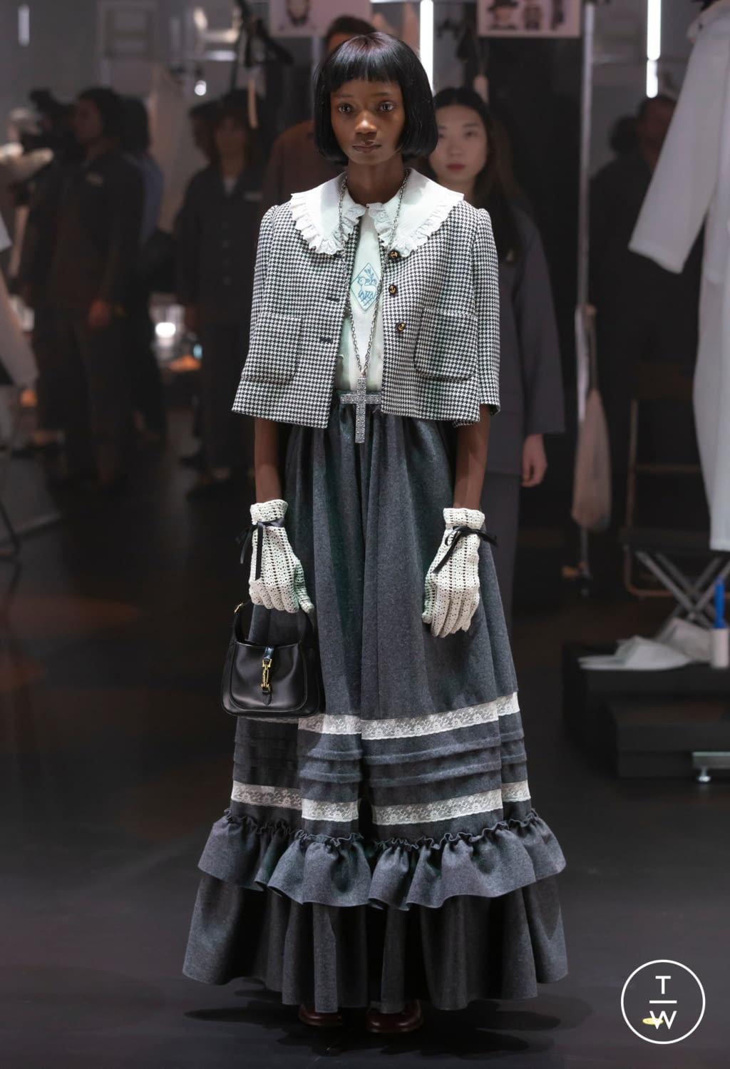 Fashion Week Milan Fall/Winter 2020 look 35 from the Gucci collection womenswear