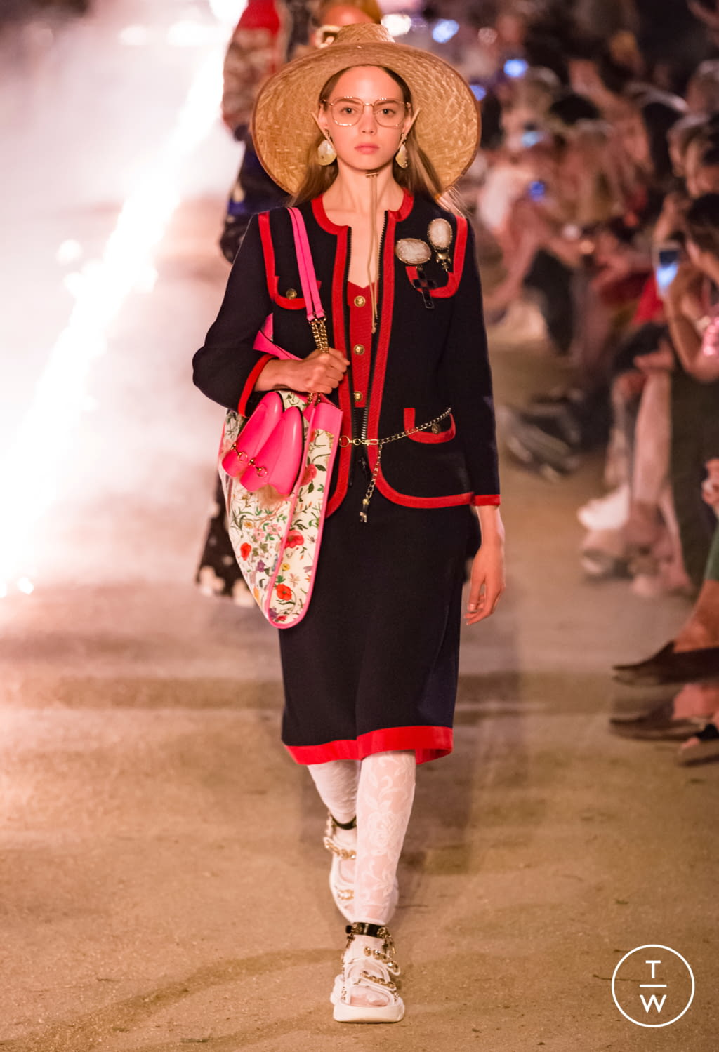 Fashion Week Milan Resort 2019 look 76 from the Gucci collection 女装