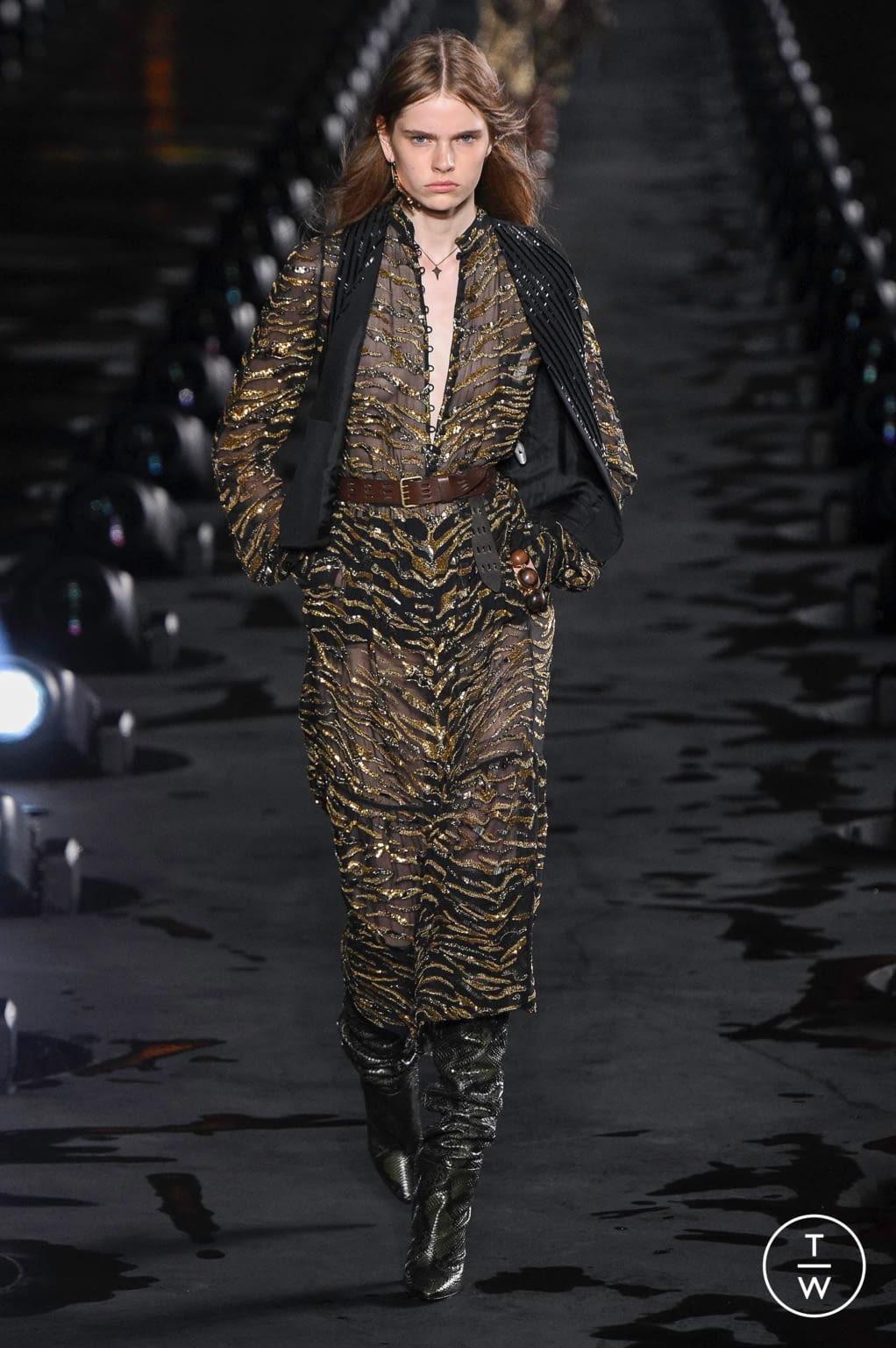 Fashion Week Paris Spring/Summer 2020 look 35 de la collection Saint Laurent womenswear