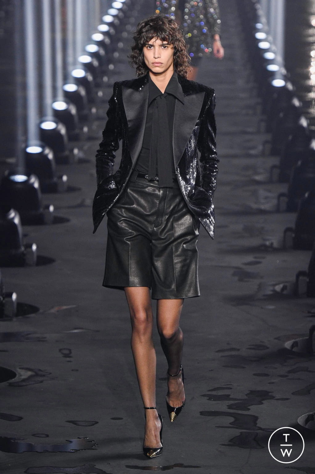 Fashion Week Paris Spring/Summer 2020 look 70 from the Saint Laurent collection womenswear