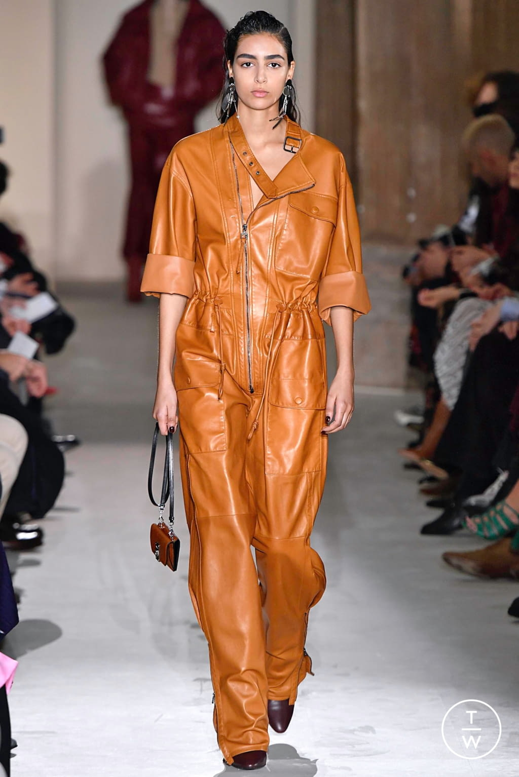 Fashion Week Milan Fall/Winter 2019 look 18 from the Salvatore Ferragamo collection womenswear