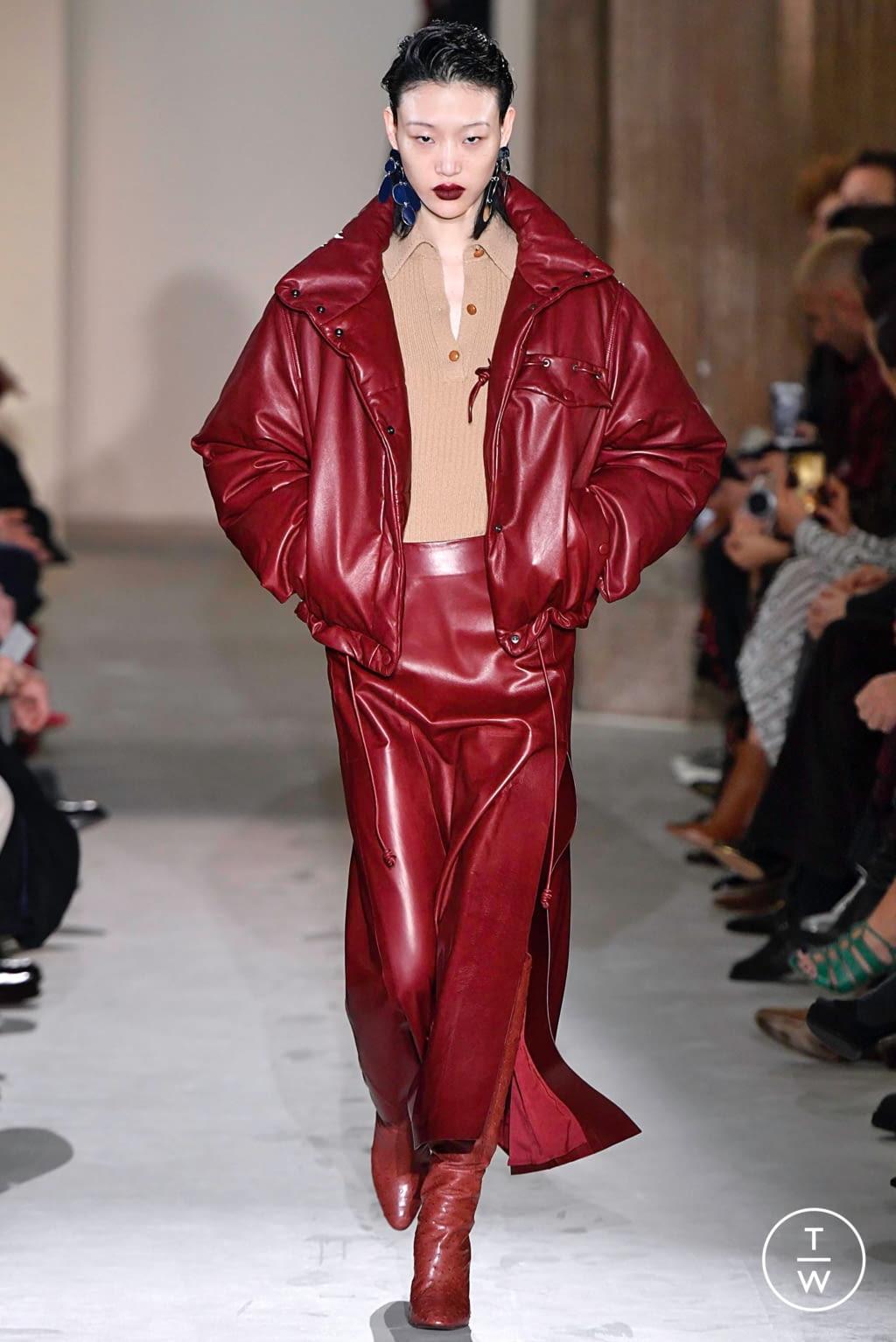 Fashion Week Milan Fall/Winter 2019 look 19 from the Salvatore Ferragamo collection womenswear