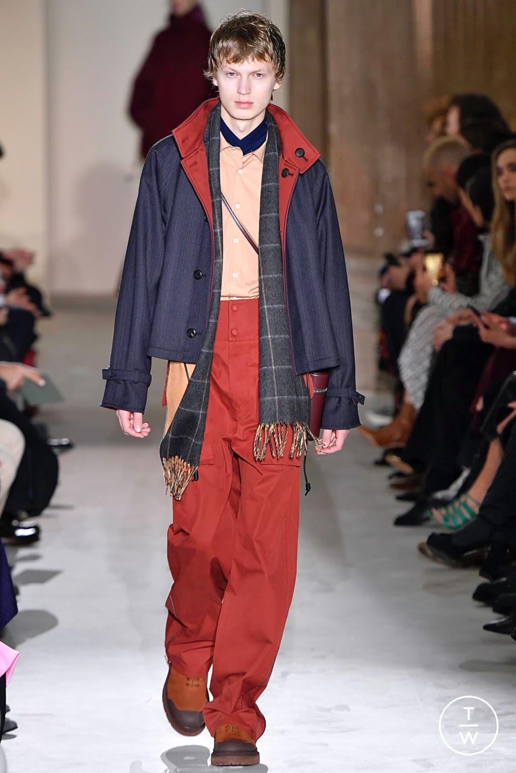 Fashion Week Milan Fall/Winter 2019 look 20 from the Salvatore Ferragamo collection womenswear