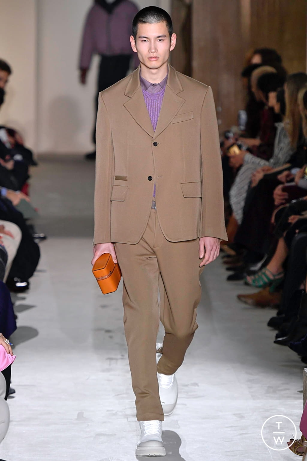 Fashion Week Milan Fall/Winter 2019 look 22 from the Salvatore Ferragamo collection womenswear