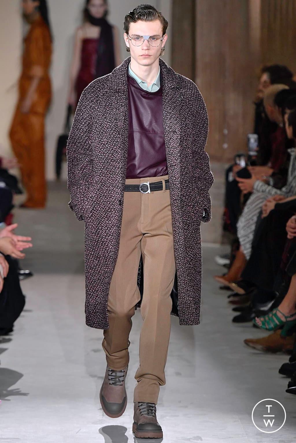 Fashion Week Milan Fall/Winter 2019 look 24 from the Salvatore Ferragamo collection womenswear