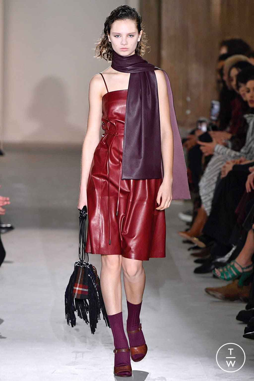 Fashion Week Milan Fall/Winter 2019 look 25 from the Salvatore Ferragamo collection womenswear