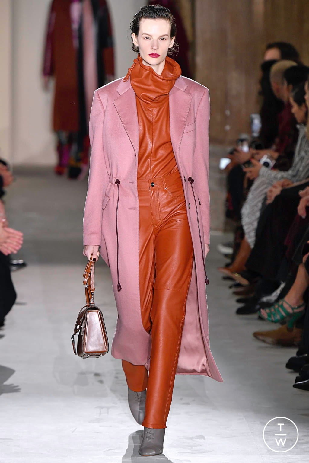 Fashion Week Milan Fall/Winter 2019 look 27 from the Salvatore Ferragamo collection womenswear