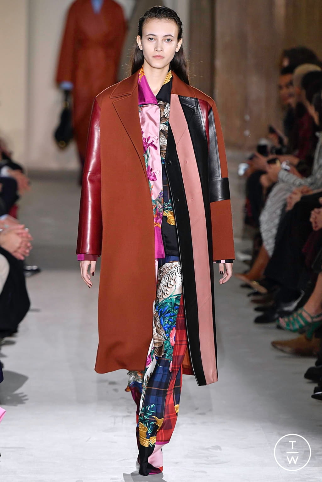 Fashion Week Milan Fall/Winter 2019 look 28 from the Salvatore Ferragamo collection womenswear