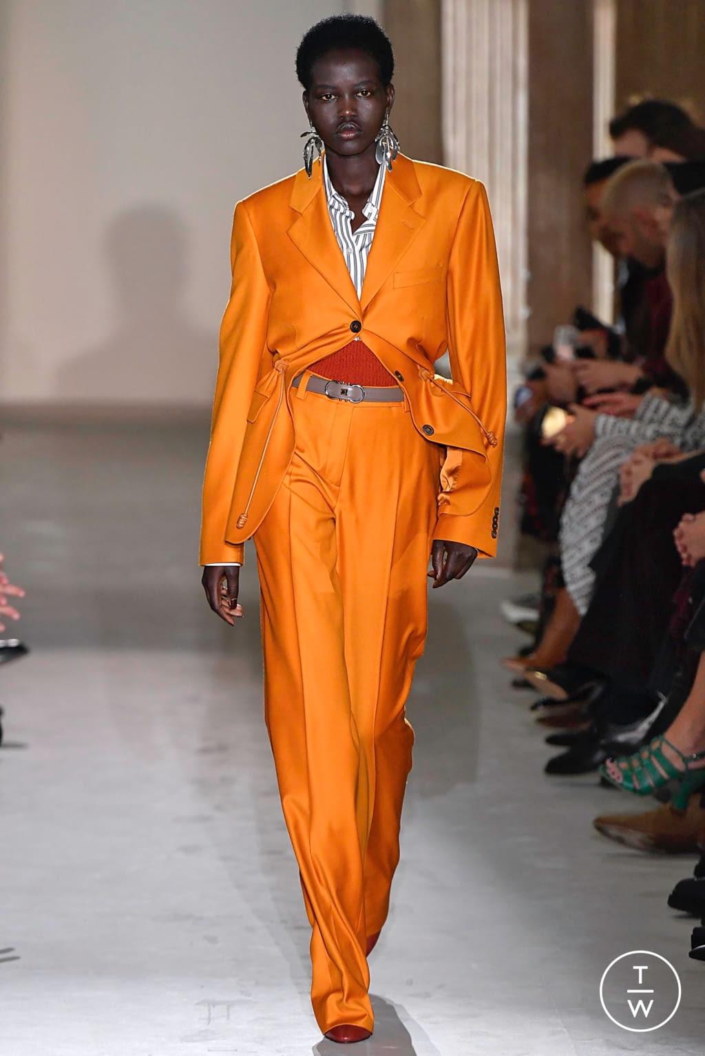 Fashion Week Milan Fall/Winter 2019 look 31 from the Salvatore Ferragamo collection womenswear