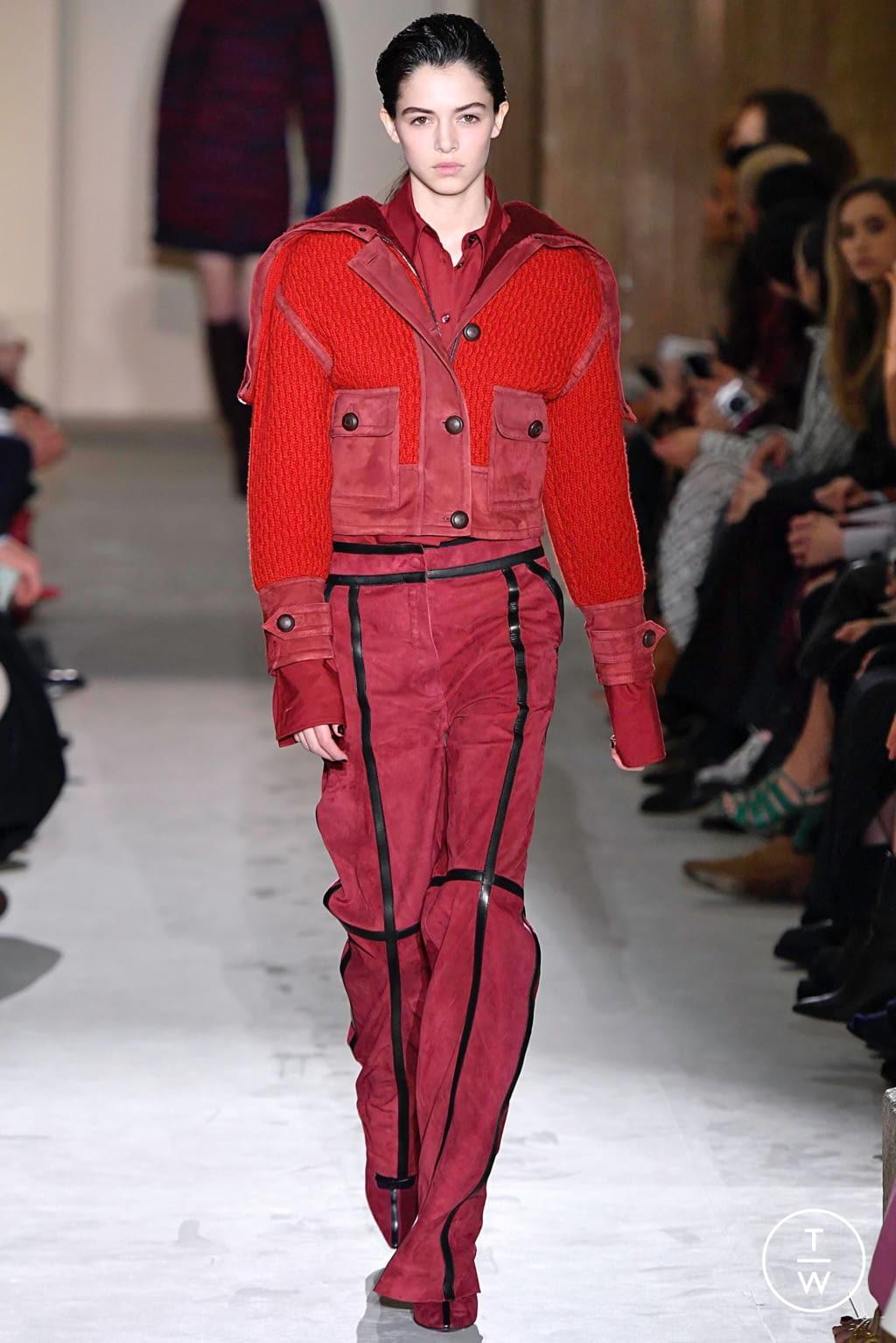 Fashion Week Milan Fall/Winter 2019 look 35 from the Salvatore Ferragamo collection womenswear