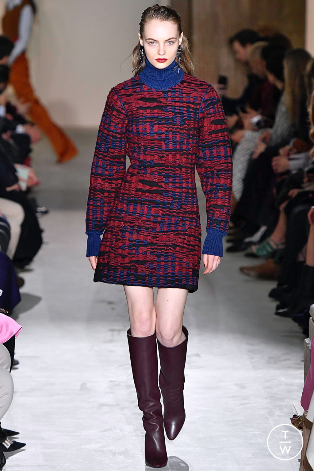 Fashion Week Milan Fall/Winter 2019 look 36 from the Salvatore Ferragamo collection womenswear