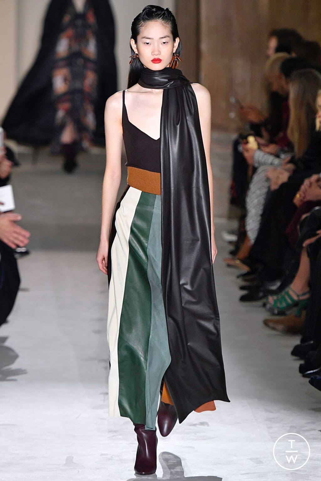 Fashion Week Milan Fall/Winter 2019 look 46 from the Salvatore Ferragamo collection womenswear