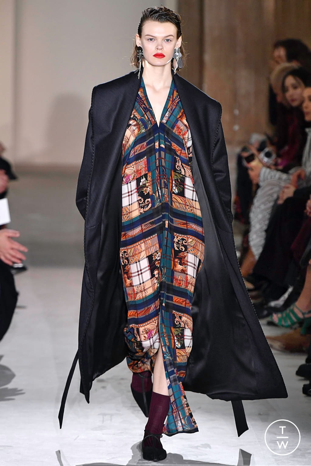 Fashion Week Milan Fall/Winter 2019 look 47 from the Salvatore Ferragamo collection womenswear