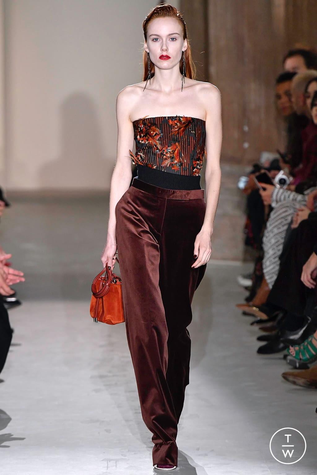 Fashion Week Milan Fall/Winter 2019 look 48 from the Salvatore Ferragamo collection womenswear
