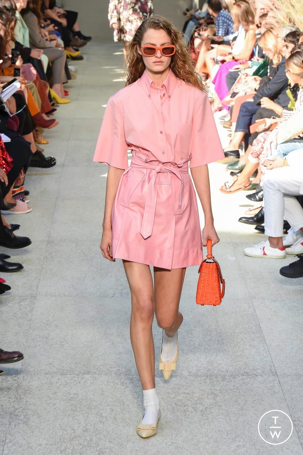 Fashion Week Milan Spring/Summer 2020 look 41 from the Salvatore Ferragamo collection womenswear