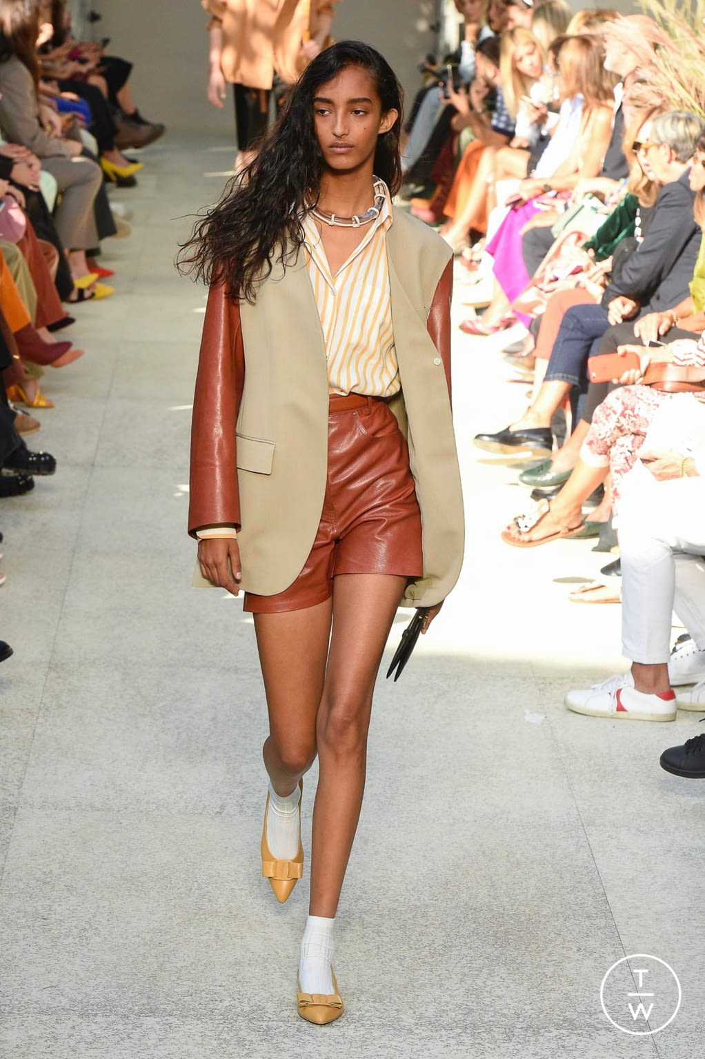 Fashion Week Milan Spring/Summer 2020 look 52 from the Salvatore Ferragamo collection womenswear