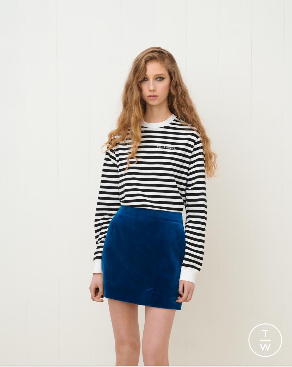 Fashion Week London Fall/Winter 2020 look 16 from the Bella Freud collection womenswear