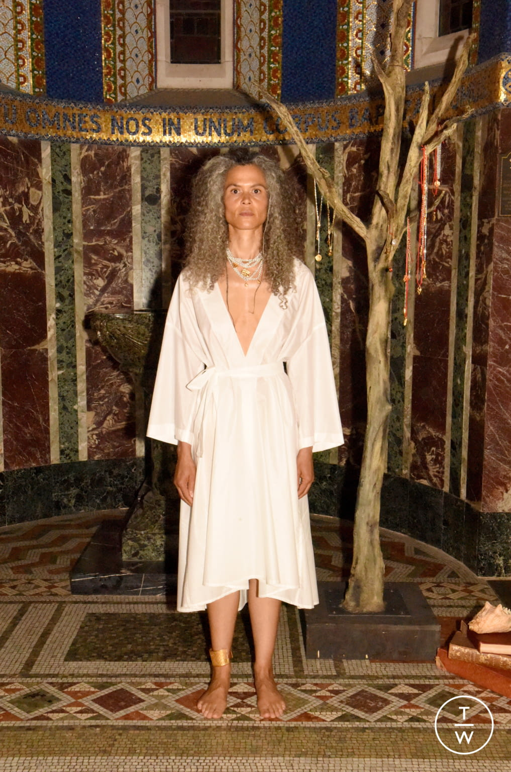 Fashion Week London Spring/Summer 2020 look 8 from the Alighieri collection womenswear accessories