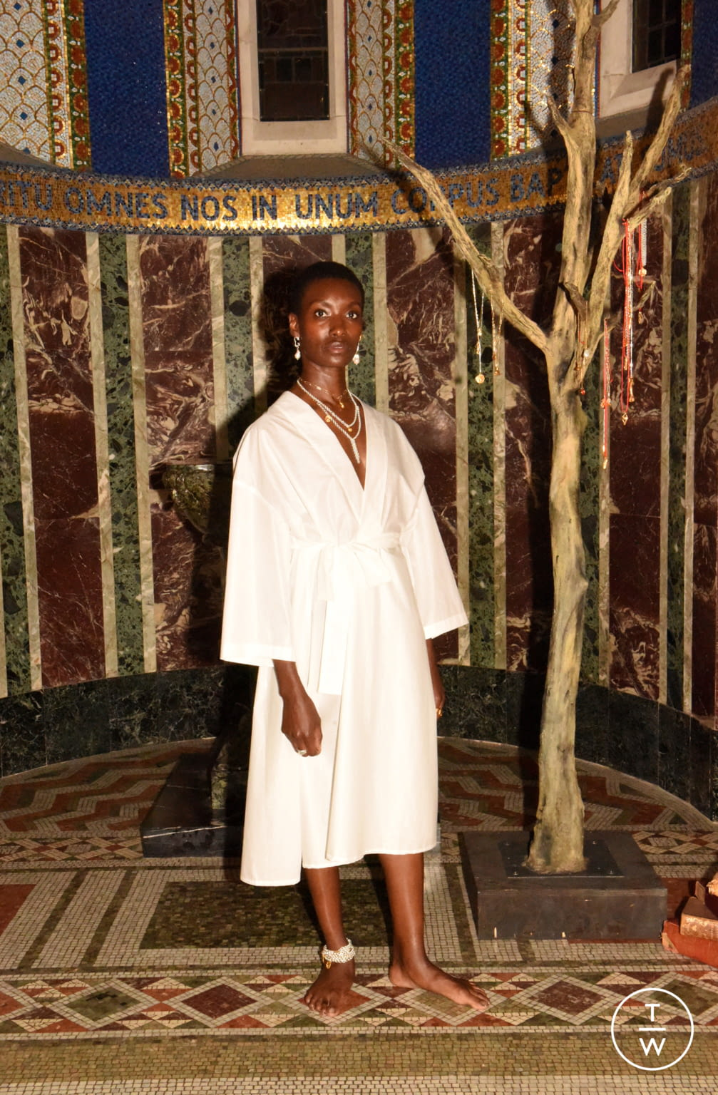 Fashion Week London Spring/Summer 2020 look 10 from the Alighieri collection womenswear accessories
