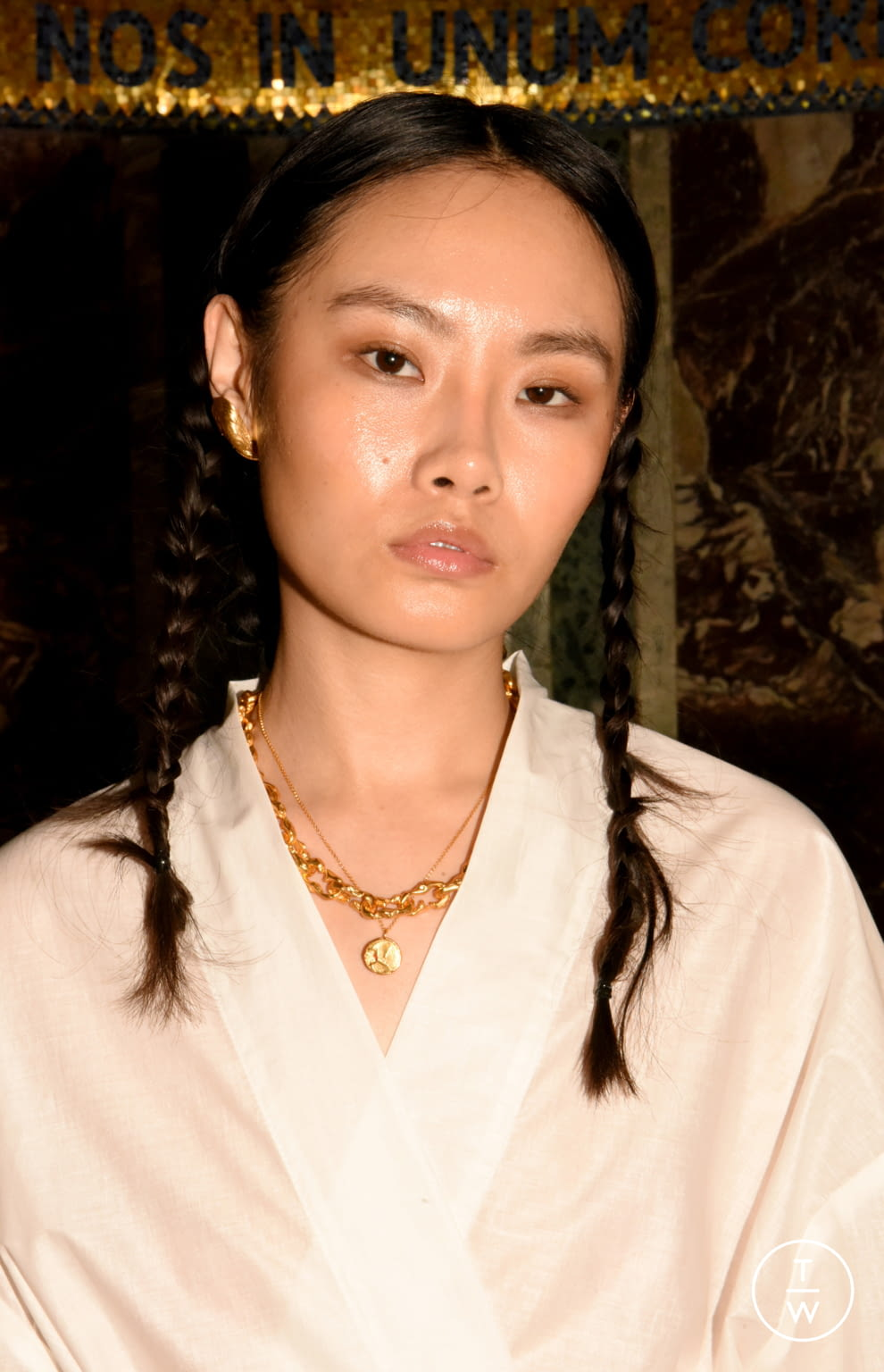 Fashion Week London Spring/Summer 2020 look 17 from the Alighieri collection womenswear accessories