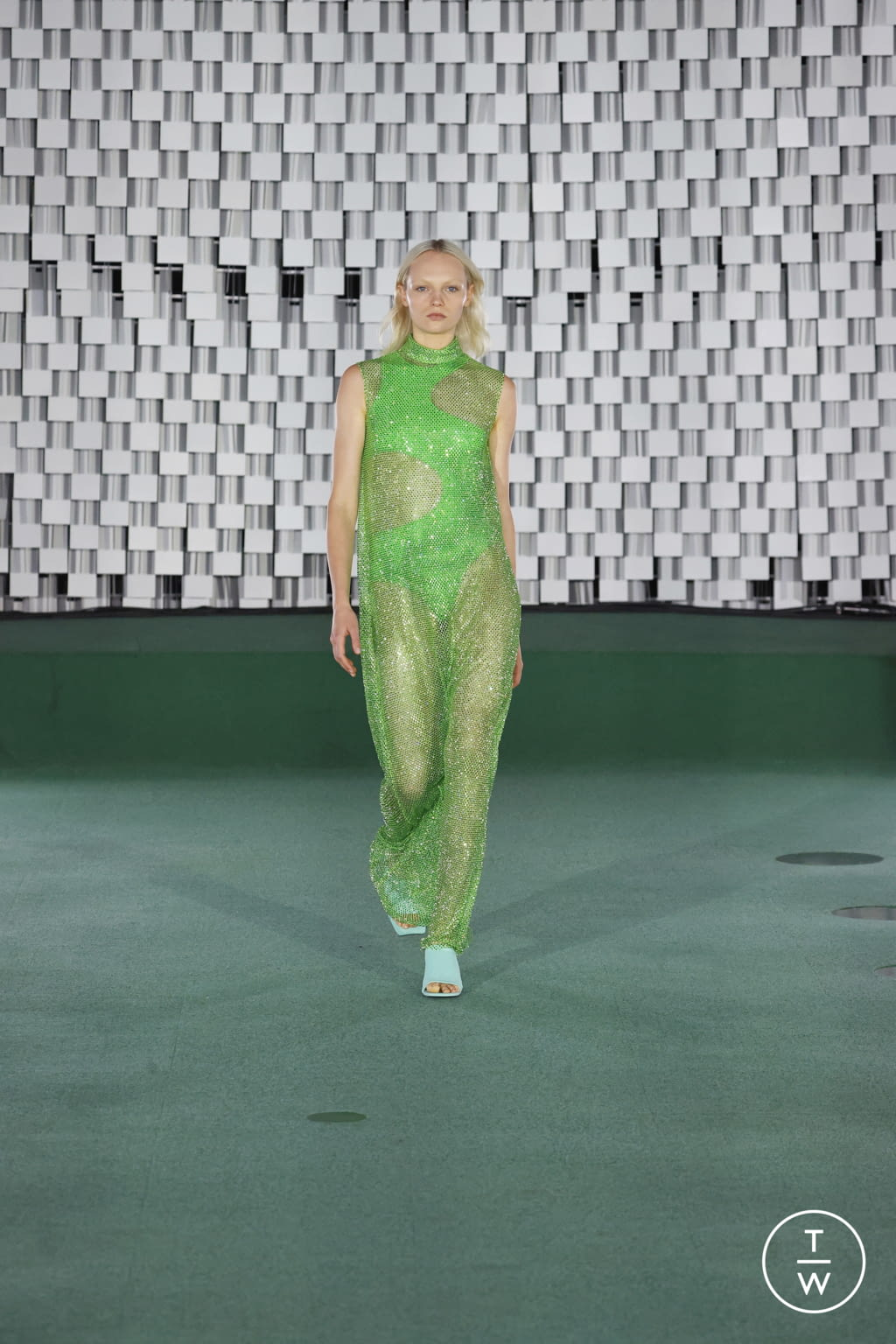 Fashion Week Paris Spring/Summer 2022 look 29 from the Stella McCartney collection womenswear