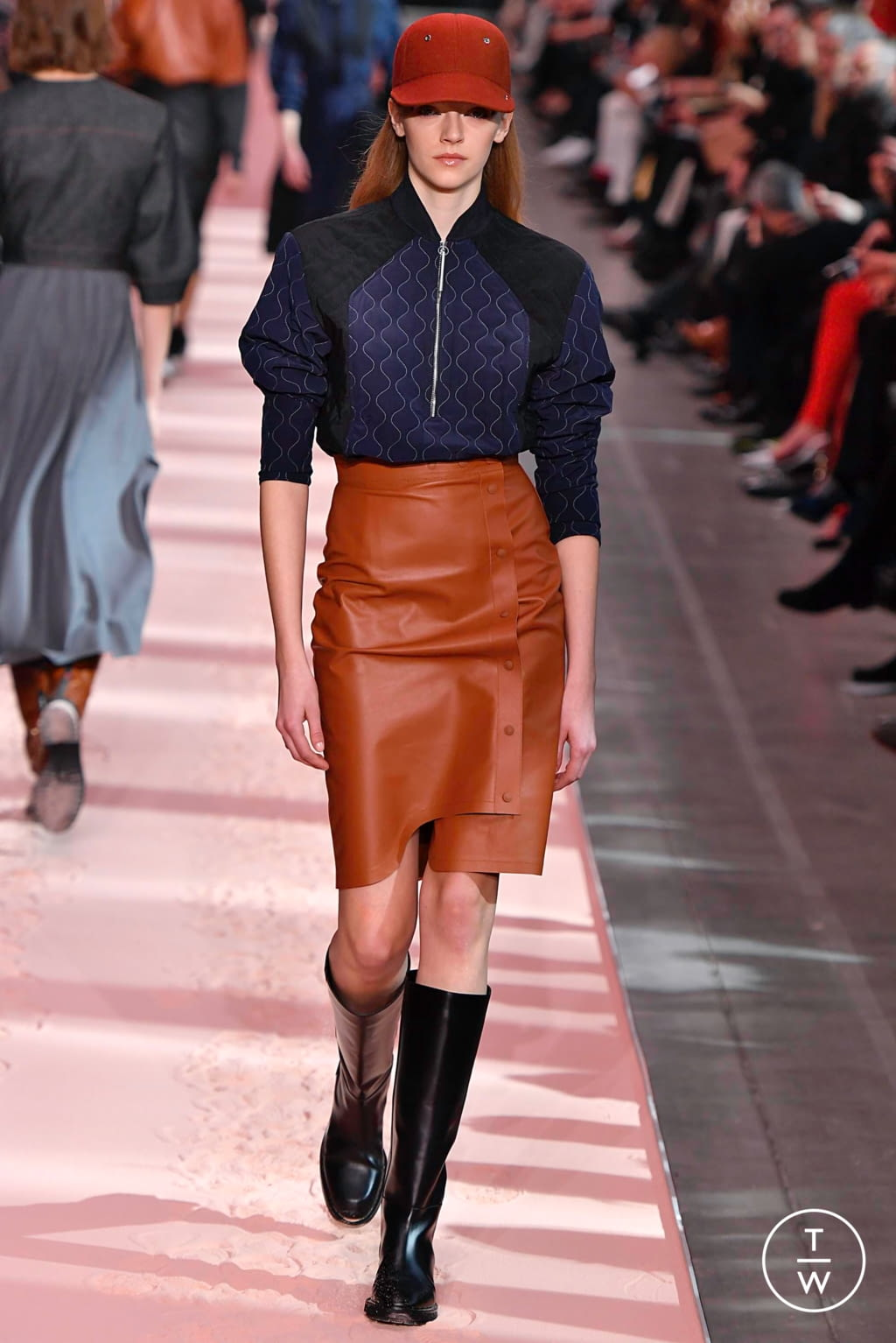 Fashion Week Milan Fall/Winter 2019 look 33 from the Sportmax collection womenswear