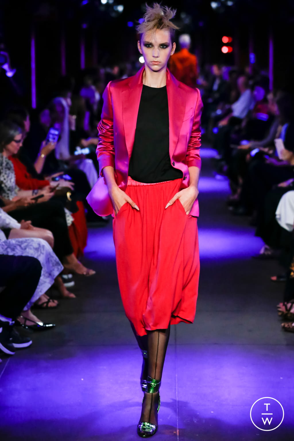Fashion Week New York Spring/Summer 2020 look 14 from the Tom Ford collection womenswear