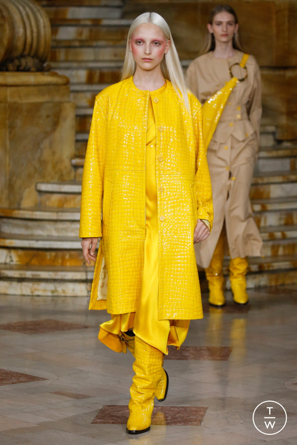 Fashion Week New York Spring/Summer 2020 look 17 from the Sies Marjan collection womenswear