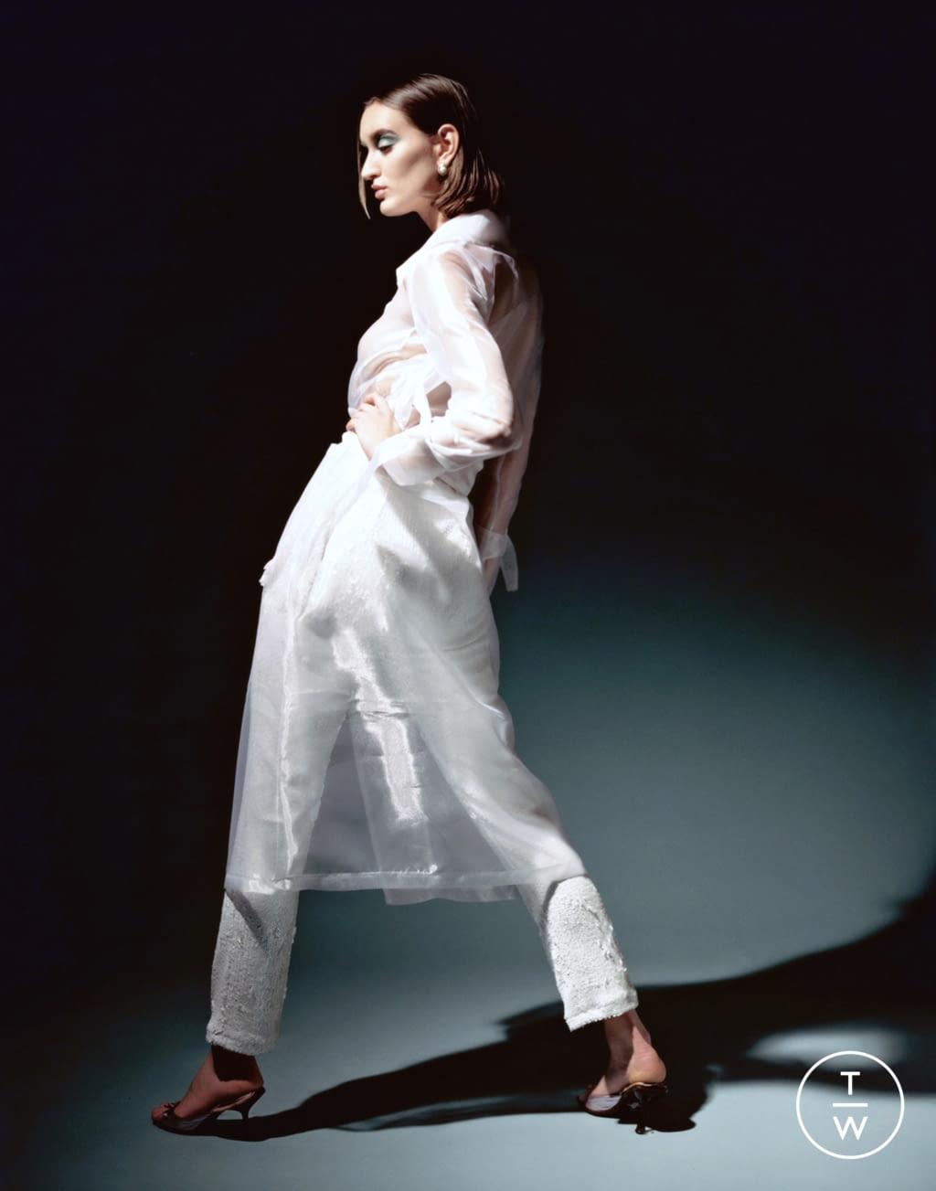 Fashion Week Paris Fall/Winter 2020 look 13 from the Stefania Vaidani collection womenswear