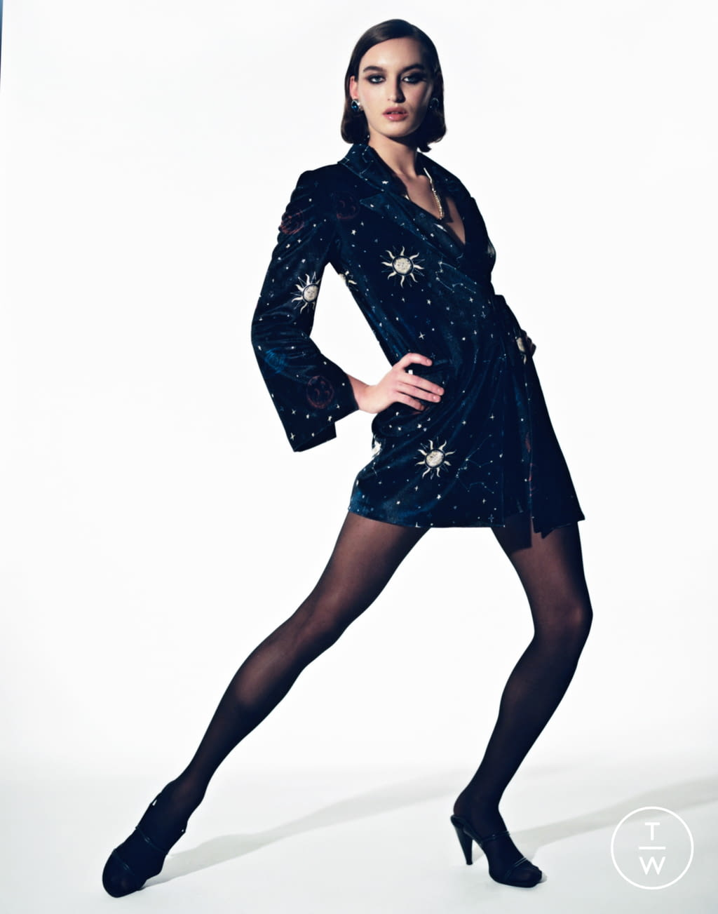 Fashion Week Paris Fall/Winter 2020 look 21 from the Stefania Vaidani collection womenswear