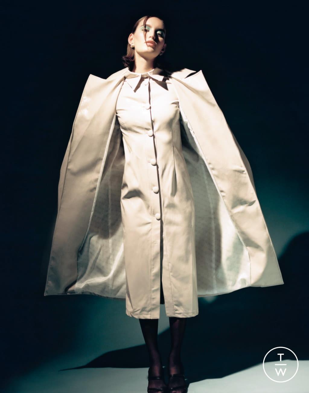 Fashion Week Paris Fall/Winter 2020 look 4 from the Stefania Vaidani collection womenswear