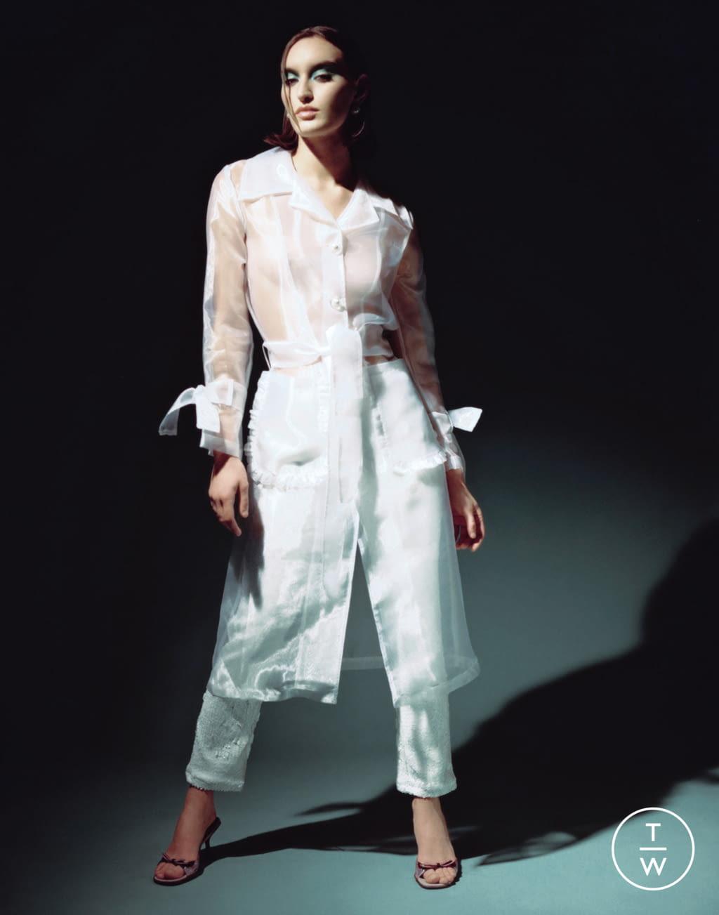 Fashion Week Paris Fall/Winter 2020 look 6 from the Stefania Vaidani collection womenswear