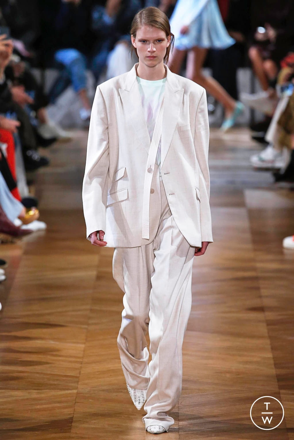 Fashion Week Paris Spring/Summer 2019 look 2 from the Stella McCartney collection womenswear