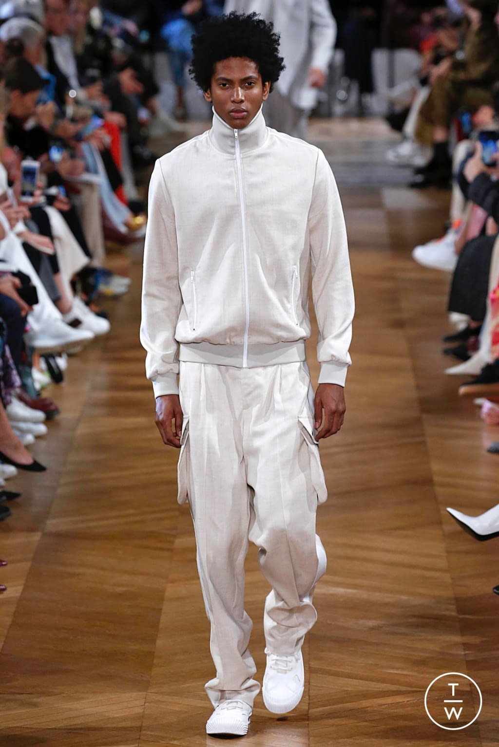 Fashion Week Paris Spring/Summer 2019 look 12 from the Stella McCartney collection womenswear