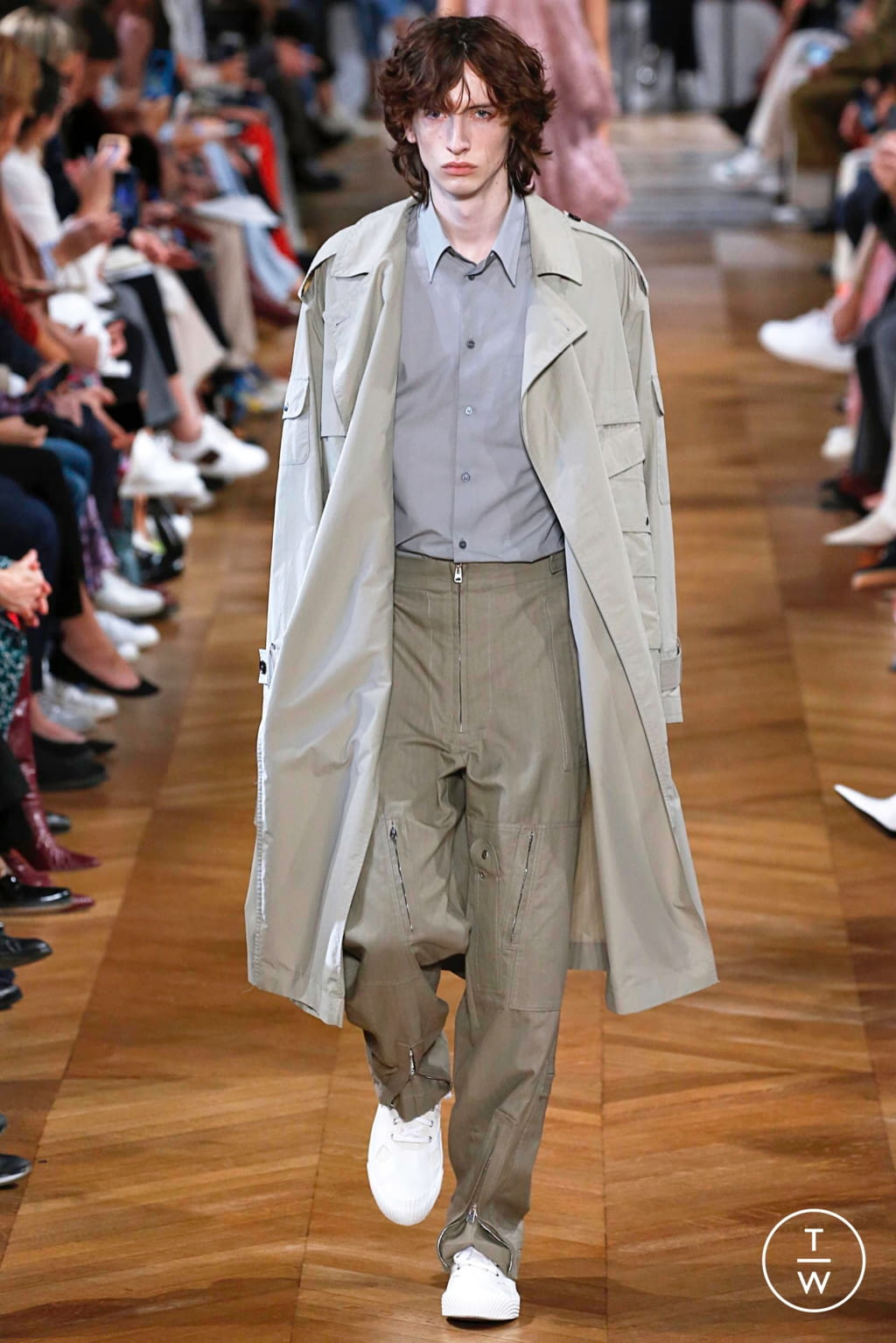 Fashion Week Paris Spring/Summer 2019 look 33 from the Stella McCartney collection 女装